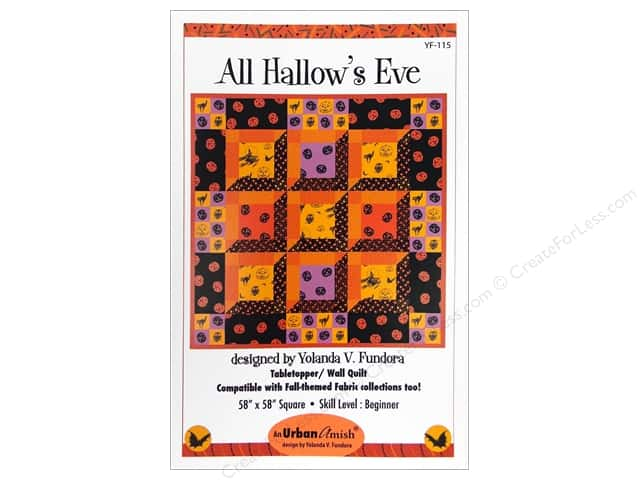 QuiltWoman.com All Hallow's Eve Pattern