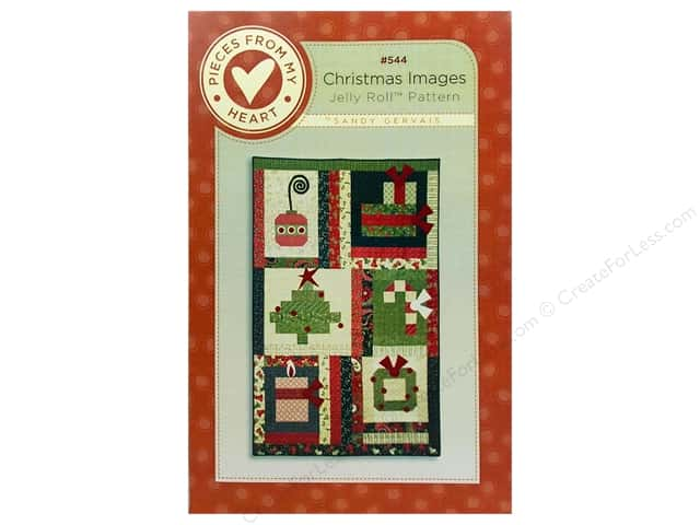 Pieces From My Heart Christmas Images Pattern