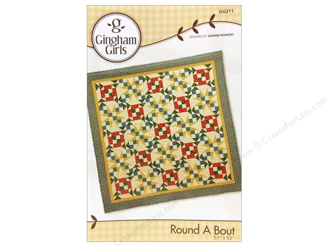 Gingham Girls Round A Bout Pattern