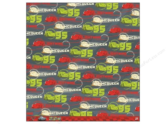 EK 12 x 12 in. Paper Disney Lightning McQueen 95 (25 sheets)