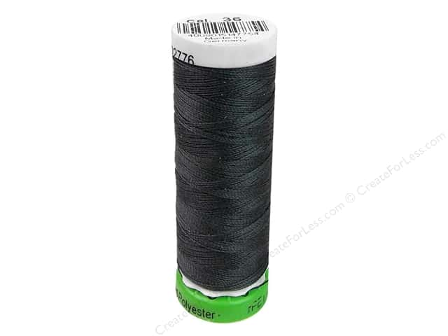 Gutermann Recycled Polyester Thread 110 yd. #036 Charcoal