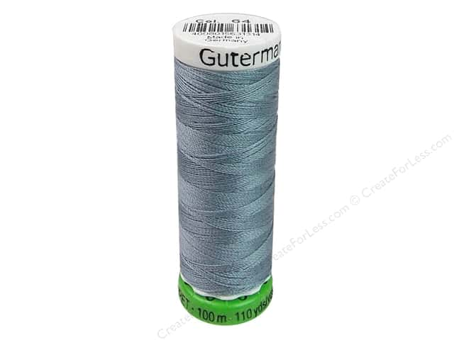 Gutermann Recycled Polyester Thread 110 yd. #064 Tile Blue