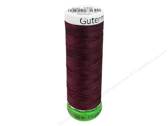 Gutermann Recycled Polyester Thread 110 yd. #130 Wine