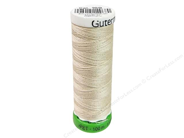 Gutermann Recycled Polyester Thread 110 yd. #169 Bone
