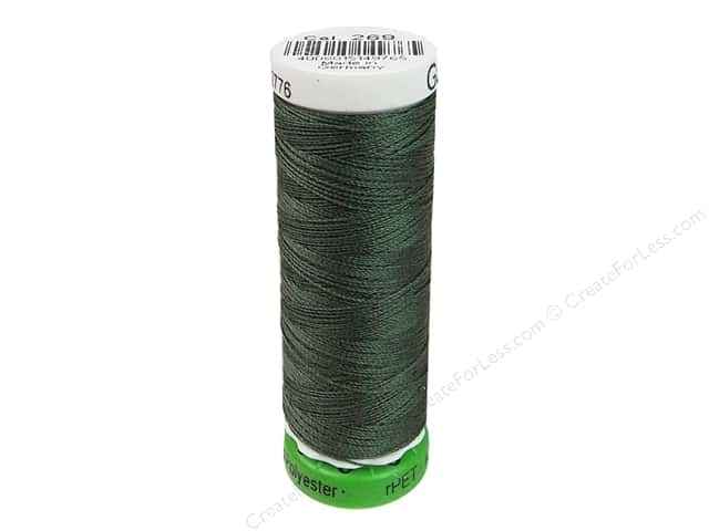 Gutermann Recycled Polyester Thread 110 yd. #269 Khaki Green