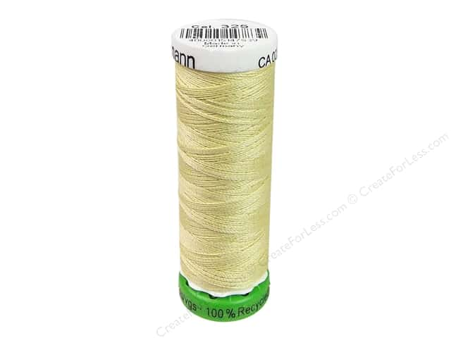 Gutermann Recycled Polyester Thread 110 yd. #325 Canary