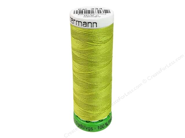 Gutermann Recycled Polyester Thread 110 yd. #334 Lime
