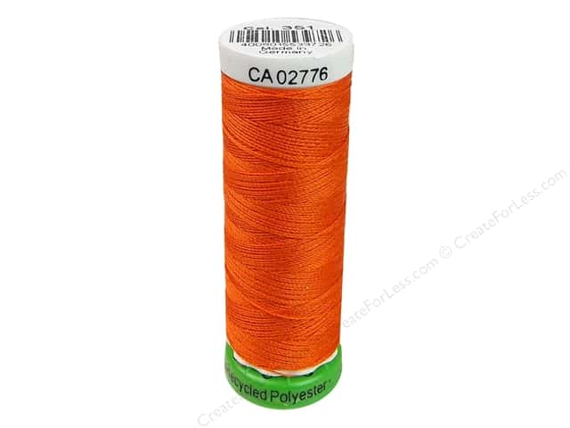 Gutermann Recycled Polyester Thread 110 yd. #351 Orange