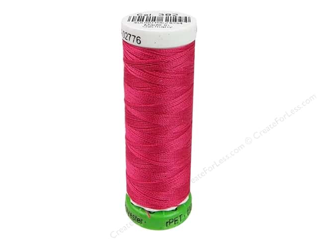 Gutermann Recycled Polyester Thread 110 yd. #382 Raspberry