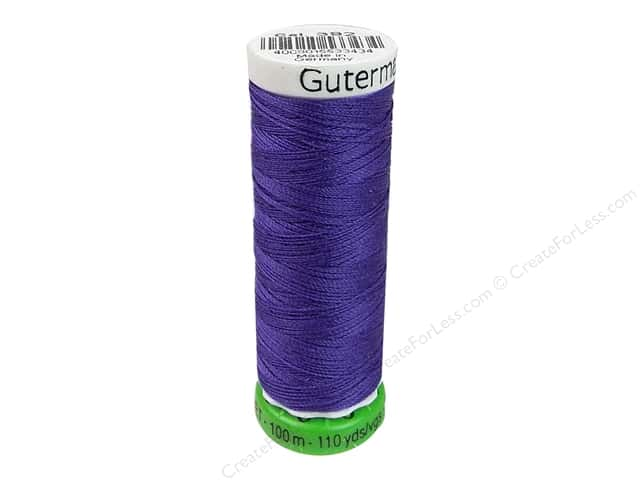 Gutermann Recycled Polyester Thread 110 yd. #392 Hydrangea