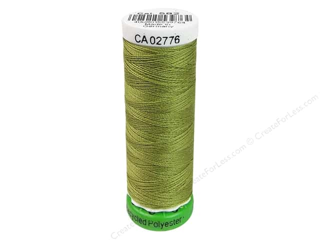 Gutermann Recycled Polyester Thread 110 yd. #582 Spring Green