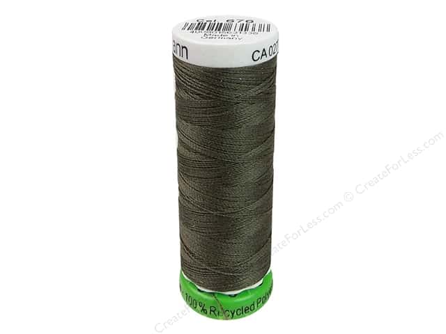 Gutermann Recycled Polyester Thread 110 yd. #676 Medium Roast Coffee