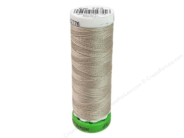 Gutermann Recycled Polyester Thread 110 yd. #722 Sand