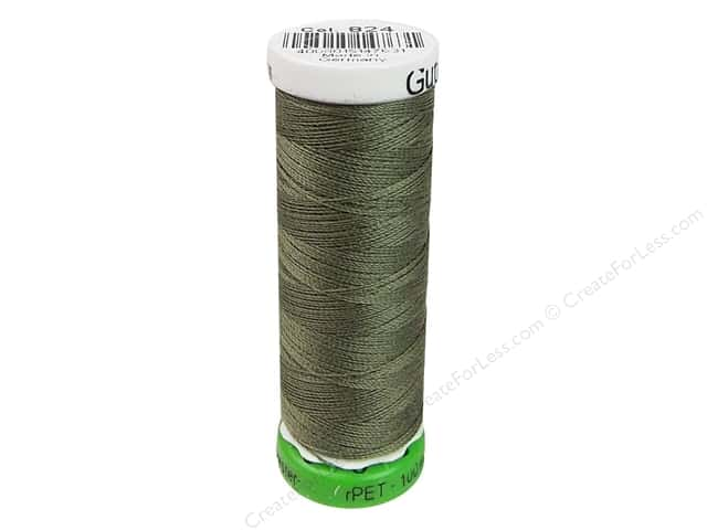 Gutermann Recycled Polyester Thread 110 yd. #824 Green Bay