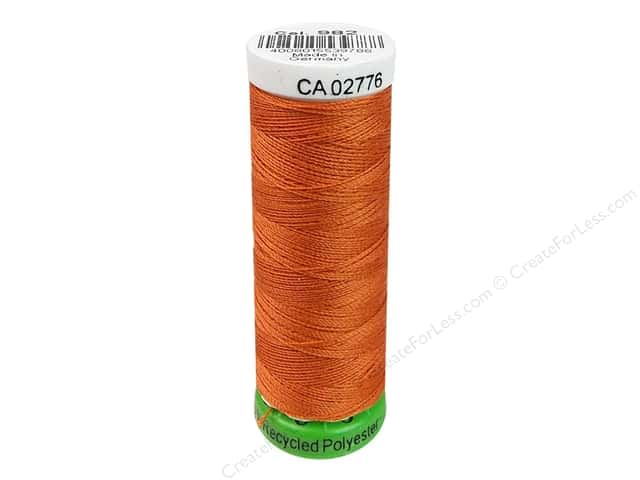 Gutermann Recycled Polyester Thread 110 yd. #982 Carrot