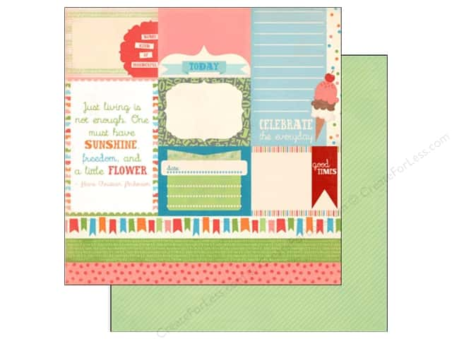 Carta Bella 12 x 12 in. Paper Alphabet Junction Alpha Cards (25 sheets)