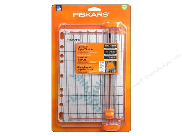 Fiskars SureCut Card Making Paper Trimmer 9 in.