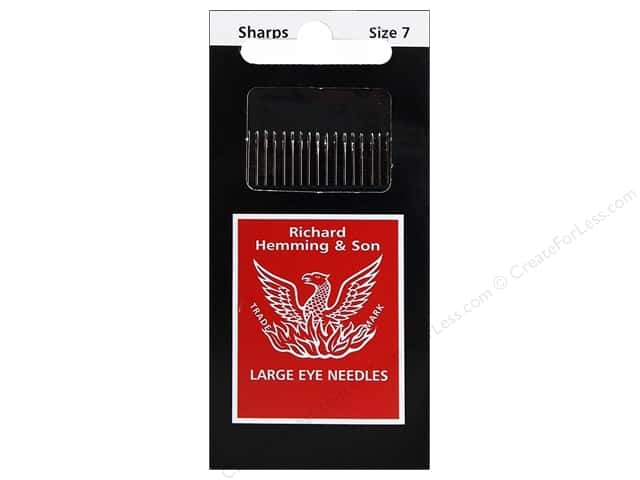 Hemming Needle Sharps Size 7 20pc