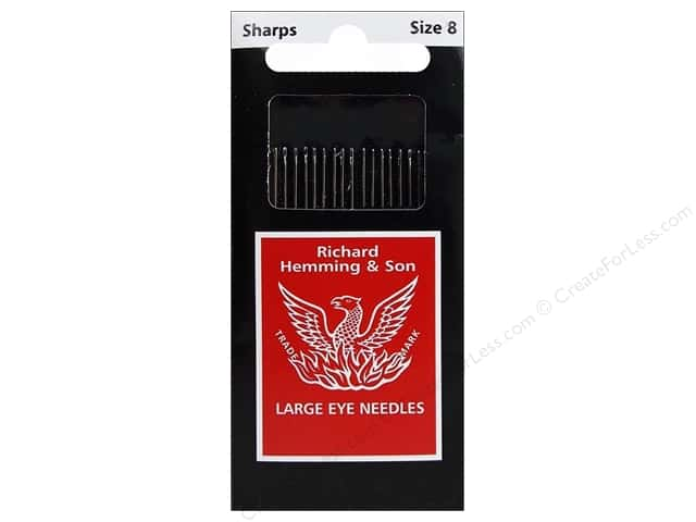 Hemming Needle Sharps Size 8 20pc