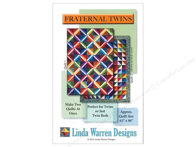 Linda Warren Fraternal Twins Pattern