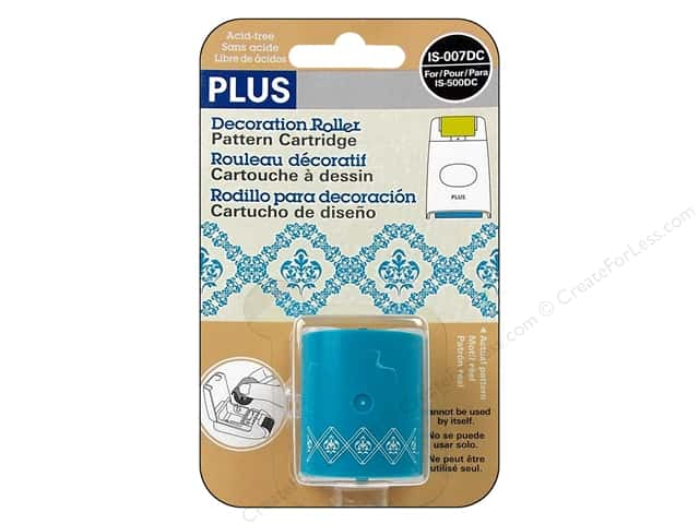 Plus Decoration Roller Refill Blue Lace