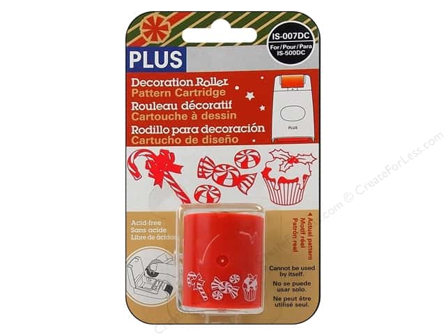Plus Decoration Roller Pattern Cartridge - Holiday Treats
