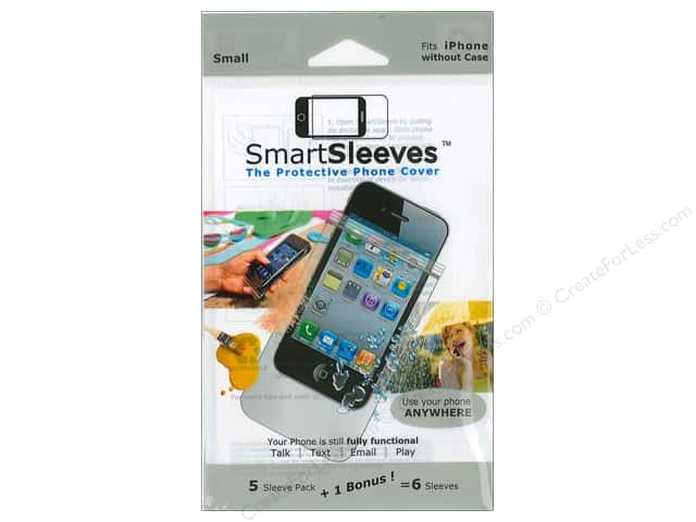 ClearBags SmartSleeves for iPhones 6 pc. Small