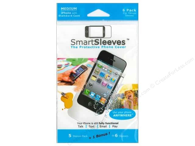 ClearBags SmartSleeves for iPhone 6 pc. Medium