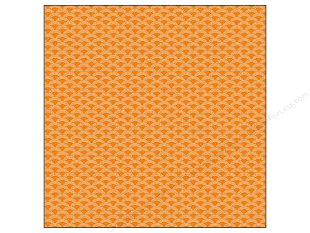 We R Memory Keepers 12 x 12 in. Washi Adhesive Sheet Orange (12 sheets)