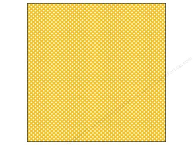 We R Memory Keepers 12 x 12 in. Washi Adhesive Sheet Yellow (12 sheets)