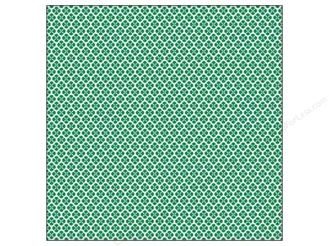 We R Memory Keepers 12 x 12 in. Washi Adhesive Sheet Green (12 sheets)