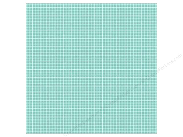 We R Memory Keepers 12 x 12 in. Washi Adhesive Sheet Aqua (12 sheets)
