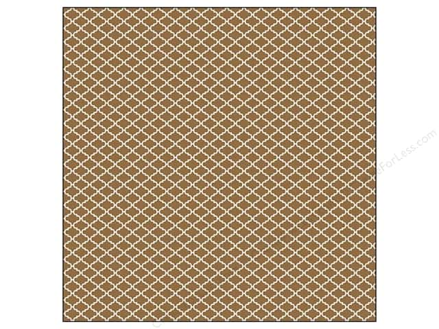 We R Memory Keepers 12 x 12 in. Washi Adhesive Sheet Brown (12 sheets)