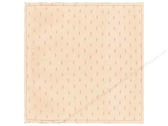 "Making Memories Paper 12""x 12"" Millinery Net Oval Dot Pink (12 sheets)"