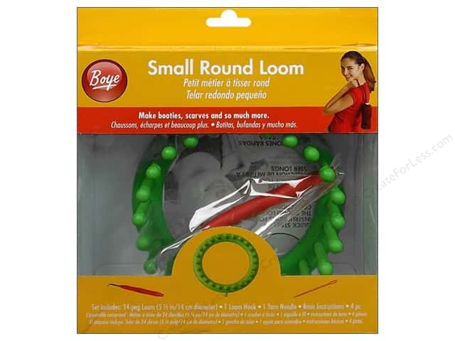 Boye Loom Knitting 5 1/2 in. Small Round Loom