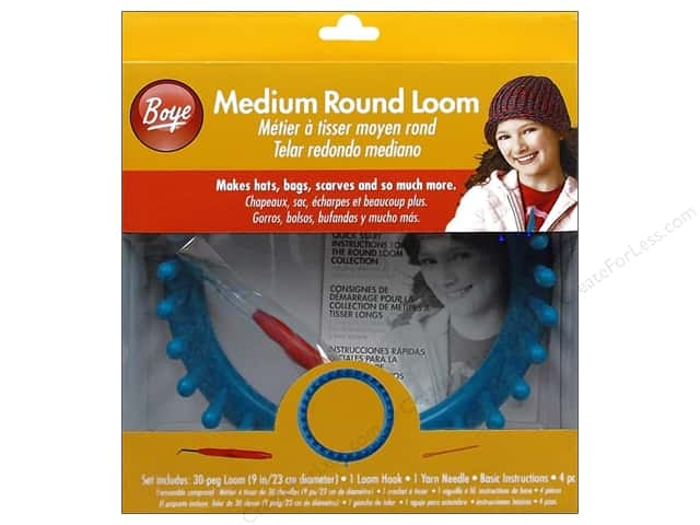 Boye Loom Knitting 9 in. Medium Round Loom