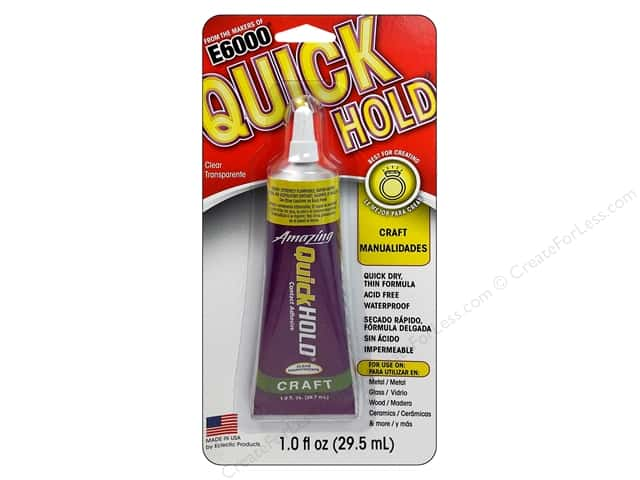 Eclectic E6000 QuickHold Adhesive 1 oz.