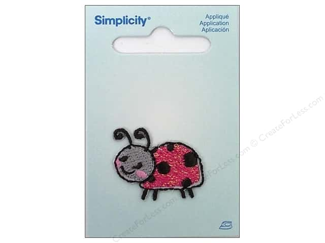 Simplicity Iron On Applique Ladybug