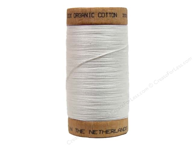 Scanfil Organic Cotton Thread 300 yd. #801 Natural