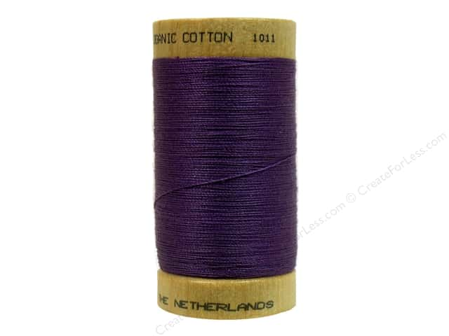 Scanfil Organic Cotton Thread 300 yd. #813 Grape