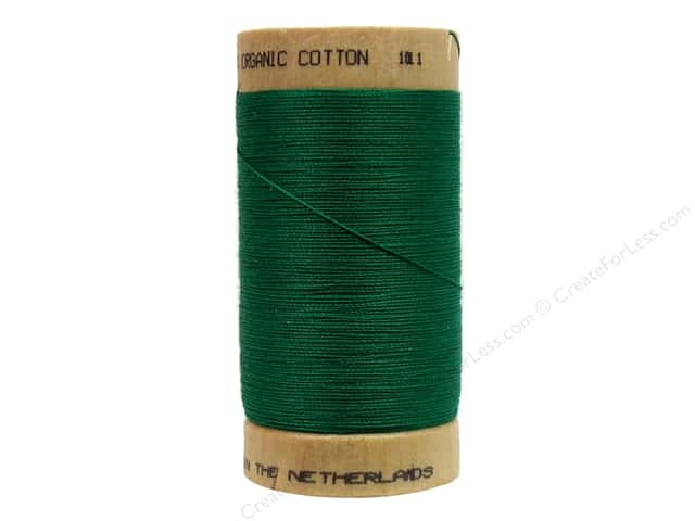 Scanfil Organic Cotton Thread 300 yd. #821 Grass