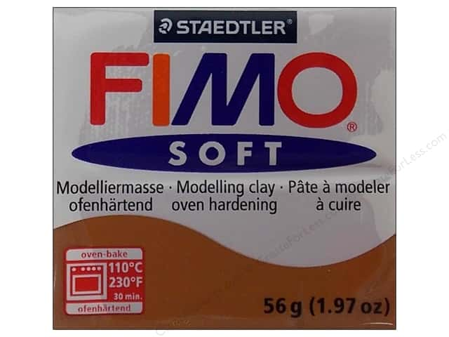 Fimo Soft Clay 2 oz. Caramel