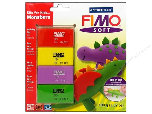 Fimo Soft Clay Kits Monsters