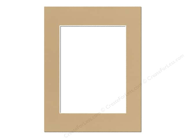 Pre-cut Photo Mat Board by Accent Design Cream Core 14 x 18 in. for 10 x 13 in. Photo Pear