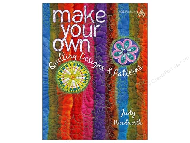 American Quilter's Society Make Your Own Quilting Designs & Patterns Book by Judy Woodworth
