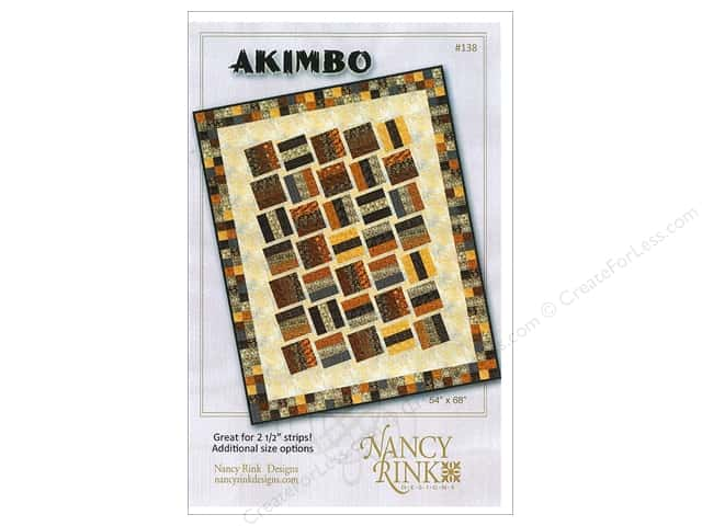 Nancy Rink Designs Akimbo Pattern