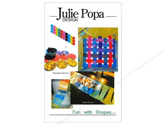 Julie Popa Design Fun With Shapes Pattern