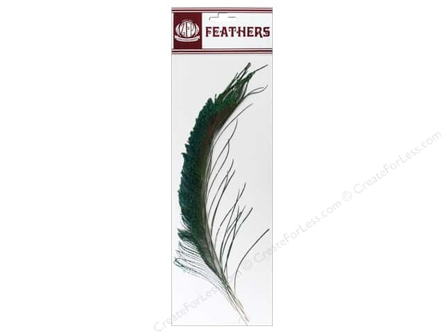 Zucker Feather Peacock Swords Feathers 2 pc. Natural