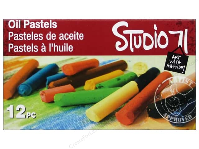 Darice Studio 71 Paint Oil Pastel Set 12 pc.