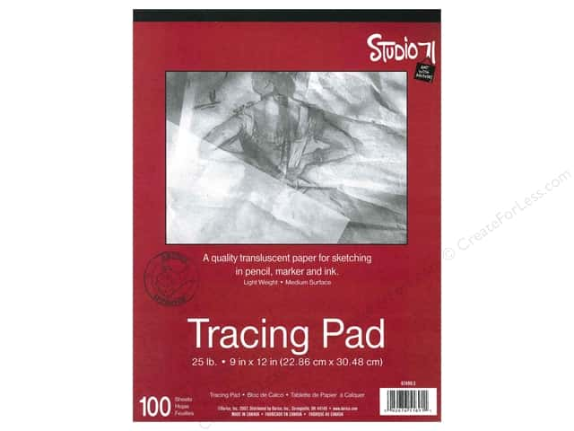 Darice Studio 71 Tracing Pad 9 x 12 in. 25 lb. Medium Surface